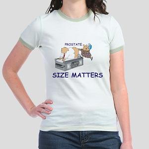 Prostate size matters Jr. Ringer T-Shirt