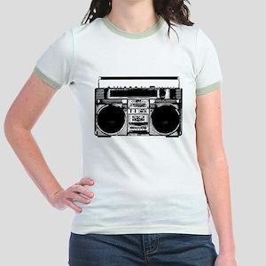 """Boombox"" Jr. Ringer T-Shirt"