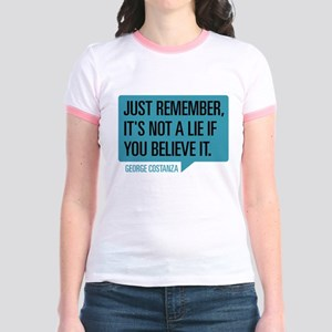 Seinfeld: George Lie Jr. Ringer T-Shirt