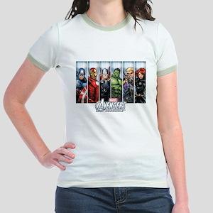 Avengers Assemble Jr. Ringer T-Shirt