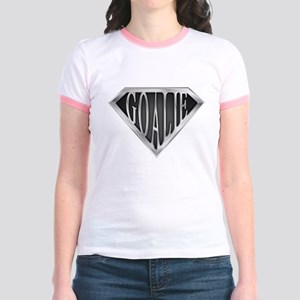 SuperGoalie(metal) Jr. Ringer T-Shirt
