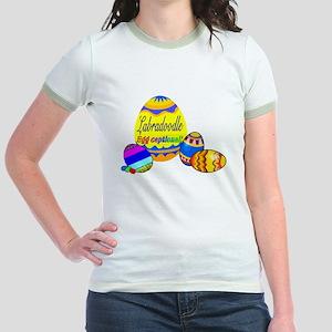 Labradoodle Easter Jr. Ringer T-Shirt