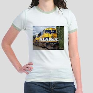 Alaska Railroad engine locomotive 2 T-Shirt