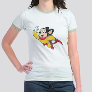 Vintage Mighty Mouse Jr. Ringer T-Shirt