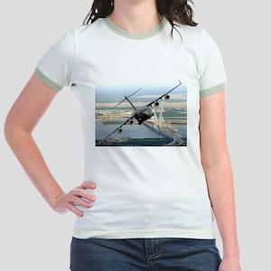 America's Gateway to the Worl Jr. Ringer T-Shirt