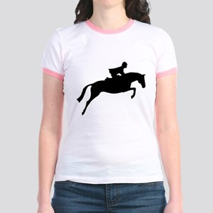 h/j horse & rider Jr. Ringer T-Shirt