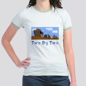 Noah's Ark Two By Two Jr. Ringer T-Shirt