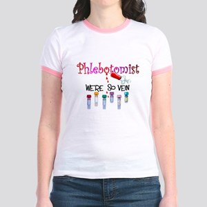 Phlebotomist Jr. Ringer T-Shirt
