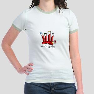 phlebotomist III Jr. Ringer T-Shirt