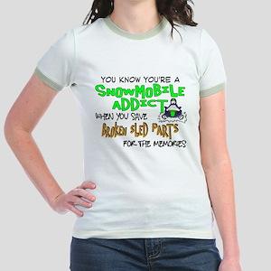 Sled Parts Memories Jr. Ringer T-Shirt
