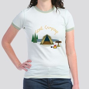 Gone Camping Jr. Ringer T-Shirt