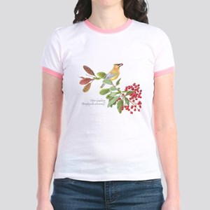 Cedar Waxwing and berries T-Shirt