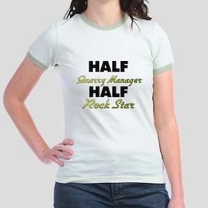 Half Quarry Manager Half Rock Star T-Shirt