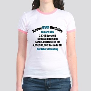 65 'Years' Old Jr. Ringer T-Shirt