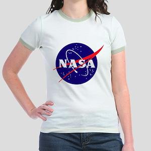 NASA Meatball Logo Jr. Ringer T-Shirt