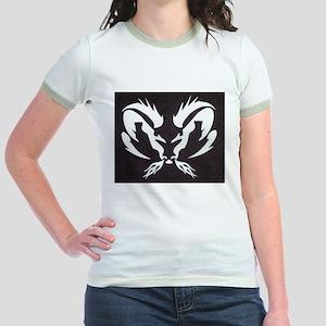 Ram Sign Jr. Ringer T-Shirt