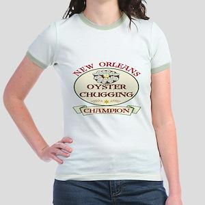 Oyster Eating Champion Jr. Ringer T-Shirt