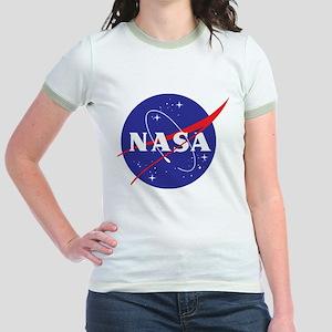 NASA Logo Jr. Ringer T-Shirt