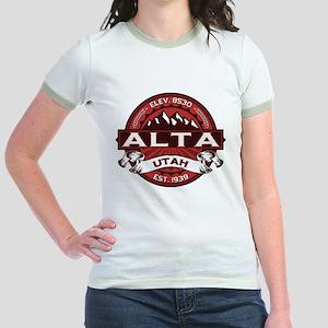 Alta Red Jr. Ringer T-Shirt