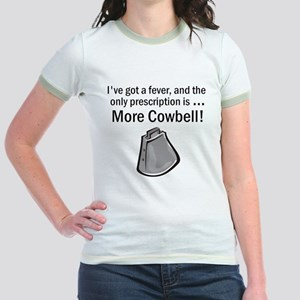 I Gotta Have More Cowbell Jr. Ringer T-Shirt