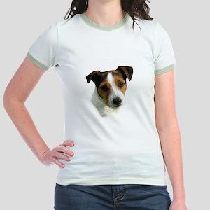 Jack Russell Watercolor Jr. Ringer T-Shirt