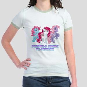 My Little Pony Retro Friends Sh Jr. Ringer T-Shirt