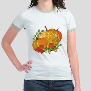 Fall Pumpkins Jr. Ringer T-Shirt