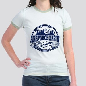 A-Basin Old Circle Blue Jr. Ringer T-Shirt