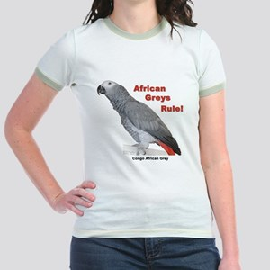 African Greys Rule T-Shirt