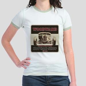 Woodward Hot Rod Shop Jr. Ringer T-Shirt