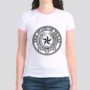 Texas State Seal Jr. Ringer T-Shirt