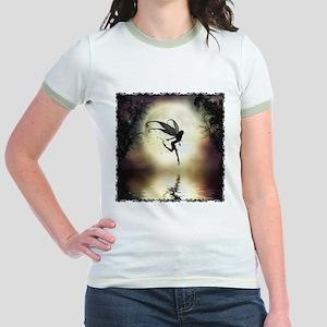 Moonlit Water Jr. Ringer T-Shirt