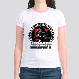Protect Flag Airsoft Jr. Ringer T-Shirt