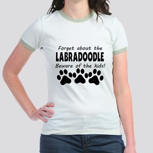 Forget About The Labradoodle Beware Of The Kids T-