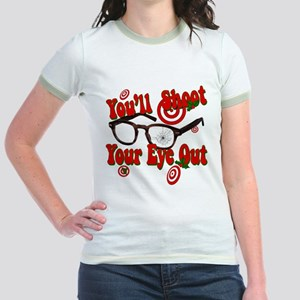 You'll shoot your eye out! Jr. Ringer T-Shirt