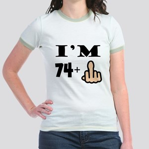 Middle Finger 75th Birthday T-Shirt