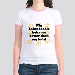My Labradoodle Behaves Better T-Shirt