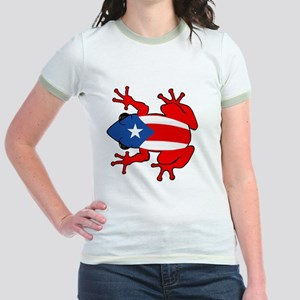 Puerto Rico - PR - Coqui Jr. Ringer T-Shirt