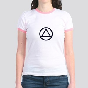 A.A. Symbol Basic - Jr. Ringer T-Shirt