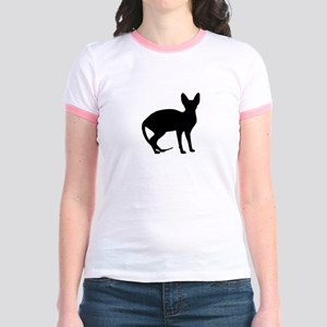 Sphinx cat Jr. Ringer T-Shirt