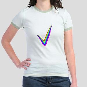 Rainbow Check Mark T-Shirt