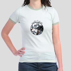 100% Coton Jr. Ringer T-Shirt