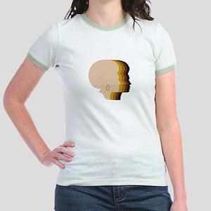 Women Afro Five Tones T-Shirt