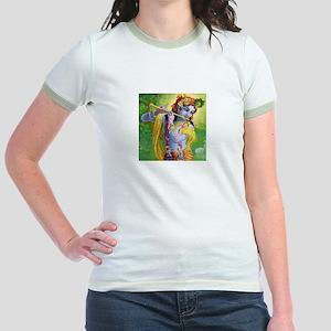 I Love you Krishna. Jr. Ringer T-Shirt