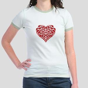 Real Heart Jr. Ringer T-Shirt