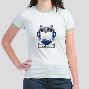 Cahill Coat of Arms Jr. Ringer T-Shirt
