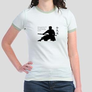 Aiki Jo Jr. Ringer T-Shirt
