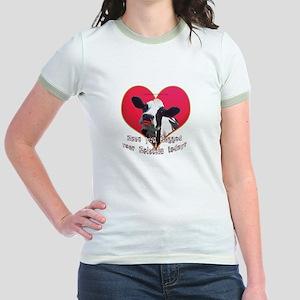 Cows Need Love Jr. Ringer T-Shirt
