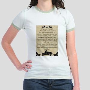 What is a Veteran Jr. Ringer T-Shirt