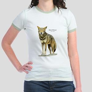 Red Wolf Jr. Ringer T-Shirt